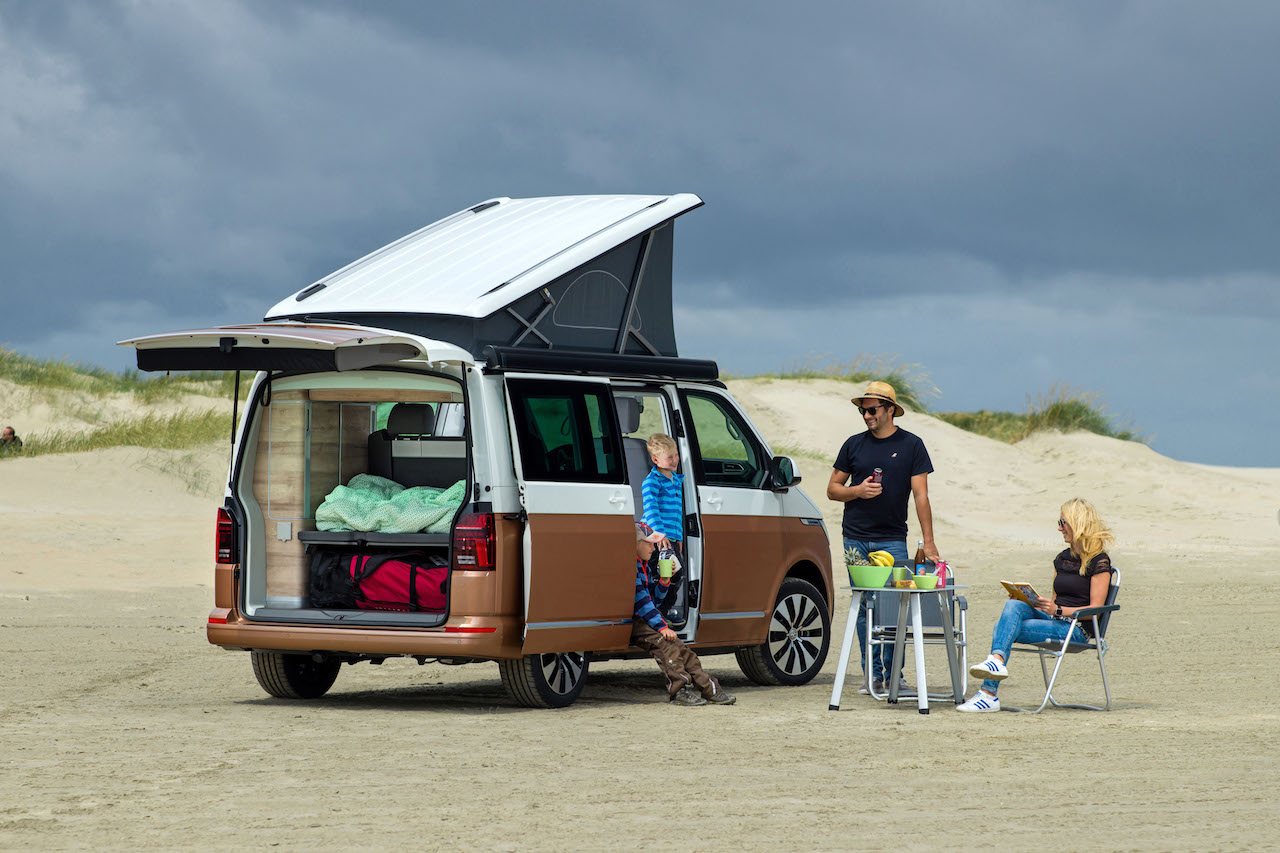Luchtvering voor Volkswagen California | Trapmann Air Suspension
